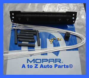 New 2010 2012 Dodge RAM 1500 3500 Auxiliary Switches and Wiring Combo OEM Mopar