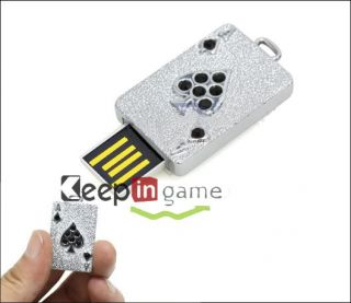 8GB Playing Poker Ace Card USB Flash Memory Stick Drive