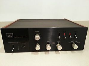 Vintage JBL SA660 Solid State Amplifier w Wood Panels RARE No Power Cord