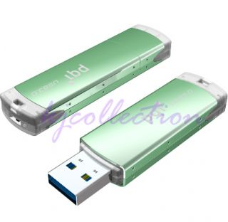 PQI Nano 128GB 128G USB 3 0 Flash Pen Drive Disk Write Protected Switch Green