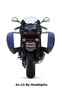 Triumph Sprint GT 1050 Hardbag Reflective Decals