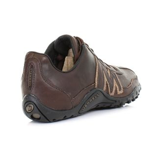 Merrell Trainers Shoes Mens Sprint Blast Espresso Brown Leather Size 6 5 12 5