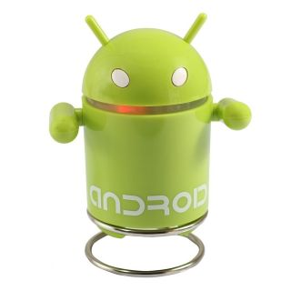 Cute Robot Mini USB Android Speaker Sound Box for PC Computer Phone Color Random