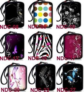 Purple Butterfly Universal Digital Camera Case Bag Pouch for Nikon Canon Sony