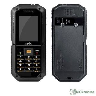 BNIB Sonim XP2 1 Spirit Black Rugged Toughp Factory Unlocked GSM Mobile Phone