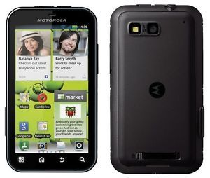 Motorola MB525 Defy Black 5MP Android Unlocked Phone
