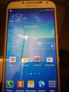 Bad ESN IMEI Tmobile Samsung Galaxy s 4 S4 SGH M919 16GB Unlocked Phone Only
