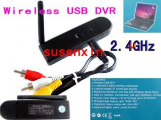 2 4G Wireless USB DVR Receiver Wirelessmini Spy Camera