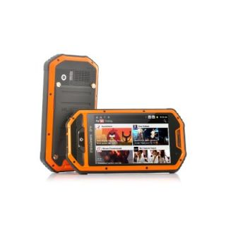 "4"" Android Military Phone Rugged Unlocked GSM Dual Sim 4 Band Field Mobile Cell"