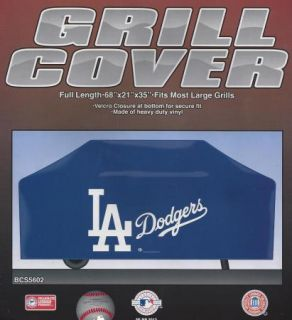 Los Angeles La Dodgers Barbeque BBQ Gas Grill Cover Team Logo MLB Vinyl New