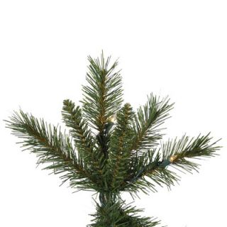 Vickerman 9 Green Newport Mix Pine Artificial Christmas Tree with 650 Clear Mini Lights with Stand