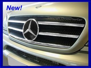 Mercedes M Class Chrome Grill Covers ML270 ML320 W163