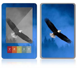 AM12 Barnes Noble Nook Color Touch Decal Skin Sticker Cover American Eagle