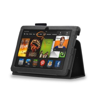 "Leather Case Cover for  Kindle Fire HDX 8 9"" with Screen Protector Stylus"