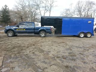1986 Arndt 4 Horse Gooseneck Trailer New Paint Job