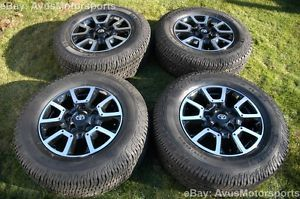 "2014 Toyota Tundra Off Road 18"" Wheels Michelin Tires TRD Land Cruiser"