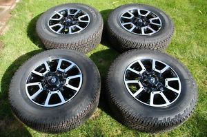 "2014 Toyota Tundra Off Road 18"" Wheels Michelin Tires TRD"