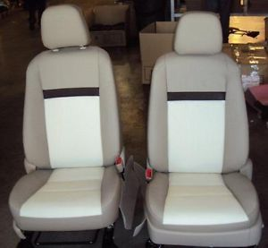 2012 Toyota Camry Le Leather Interior Seat Covers Vin U Ivory