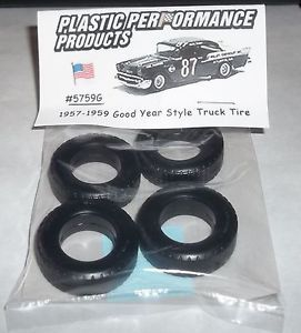 NASCAR 1 25 Goodyear Tires 1957 1959 Style Truck Set Stock Car Late Model Parts