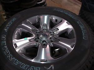 "4 18"" Ford F 150 Alloy Wheels Rims with Goodyear Tires 3832"