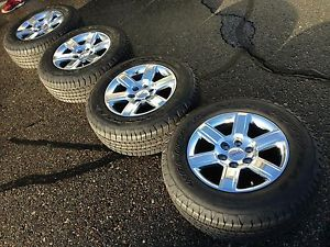 2014 GMC Sierra Yukon Factory Stock Wheels Rims 265 65 18 Goodyear Tires