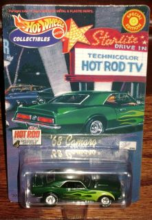 2001 Hot Wheels Special Edition Hot Rod Magazine Decades of Hot Rods 68 Camaro