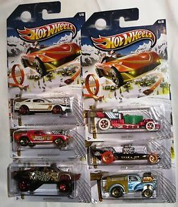 2013 Hot Wheels Holiday Hot Rods Set of 6