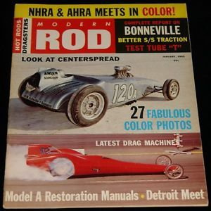 1965 Hot Rod Magazine