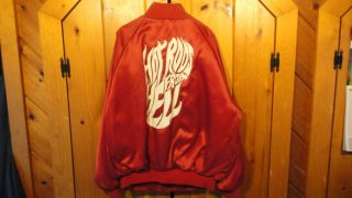 RARE Vintage Early 1990's Hot Rods from Hell Drag Racing Circuit Jacket NHRA