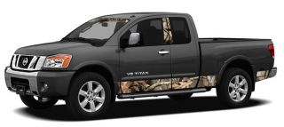 Camo Truck Side Rocker Panel Graphics Decal Kit Vehicle Body Sticker Hunting