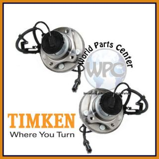 TIMKEN 2 Front Wheel Bearing Hub Assembly Ford Crown Victoria Lincoln Town Car