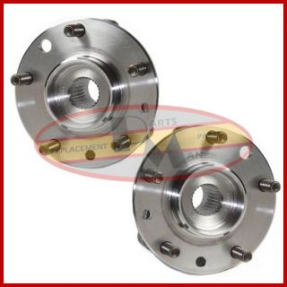 2 New Front Wheel Bearing Hub Assembly 4 x 4 Pair