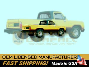 1977 1978 Dodge Macho Power Wagon Truck Decals Stripes Kit