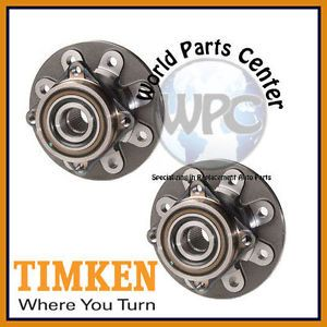 TIMKEN 2 Front Wheel Bearing Hub Assembly Dodge RAM 2500 Heavy Duty 8800 GVW