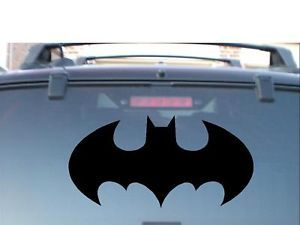 "7"" Batman 5yr Vinyl Decal Sticker Ford Truck Car Window"