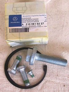 Front Wheel Bearing Kit 210 980 08 16 Mercedes E320 E430 4 Matic 00 02