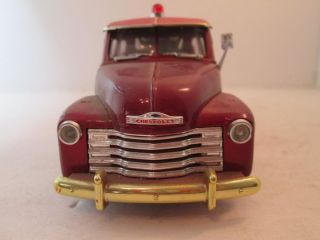 1953 Chevy Tow Truck 1 24 Scale Diecast Truck