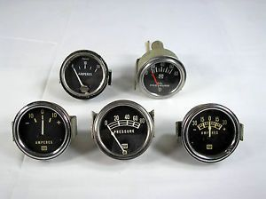 Vintage Lot of Stewart Warner Gauges More Rat Rod Hot Rod Jalopy