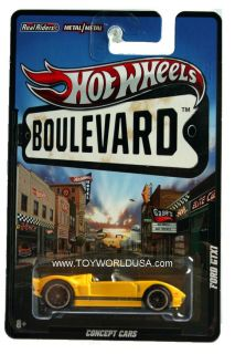 2011 Hot Wheels Boulevard Concept Cars Ford GTX1