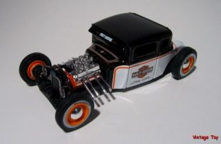 Harley Davidson Hot Rod Ford Maisto Diecast 1 24 Scale 1929 Rat Rod W