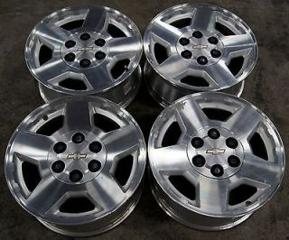 "Chevy Silverado Suburban Tahoe Avalanche Express 17"" Factory Wheels Rims"