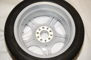 "BMW E46 17"" Light Alloy Wheel Rim Tire M Sport Double Spoke 68 2229180"
