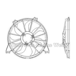 New 2009 Dodge Journey 3 5L Radiator Cooling Fan Assembly CH3115160