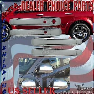 Dodge Journey 2011 2013 Chrome Door Handles Mirror Covers Combo Kit
