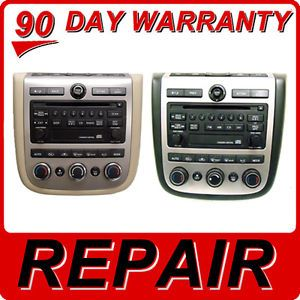 Repair Nissan Murano Radio CD Disc Player 03 04 05 06 07 Fix 28185 CA000 PN2529H