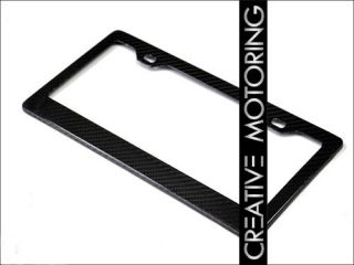 New Real Carbon Fiber License Plate Frame by Autotecknic for BMW Vehicles