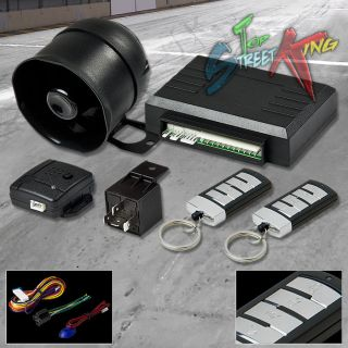 Car Auto Security Alarm System Siren Keyless Entry Multi Function Remote T15