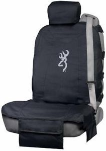 Black Tactical Browning Universal Seat Cover