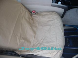 New Trip Tails Bucket Car Seat Cover for Pet Dog Tan