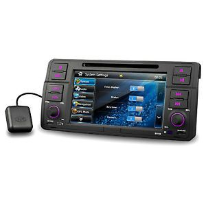 New BMW 3 E46 M3 Car GPS Navigation System DVD Player Dual Canbus iPod Stereo BT